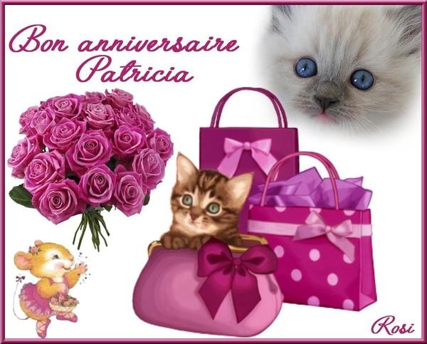 bon anniversaire patricia