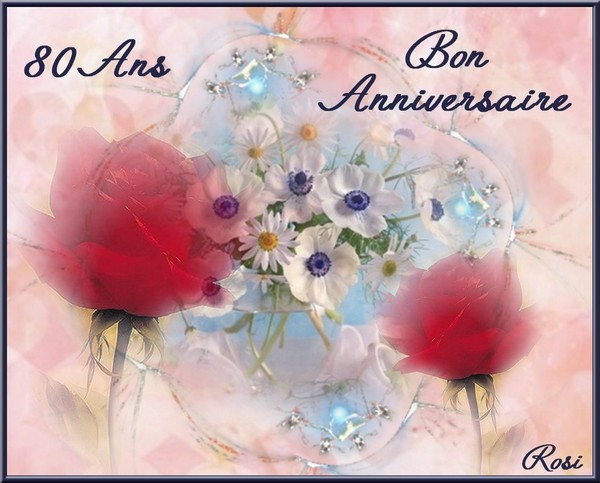 Bon anniversaire 80 ans femme - Carte anniversaire 80 ans gratuite a imprimer ...