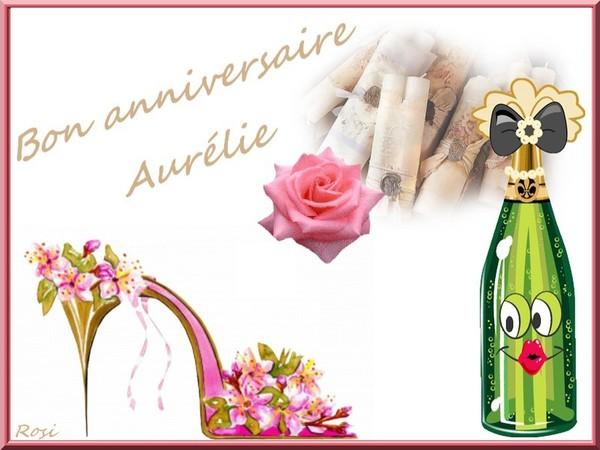 bon anniversaire aurélie