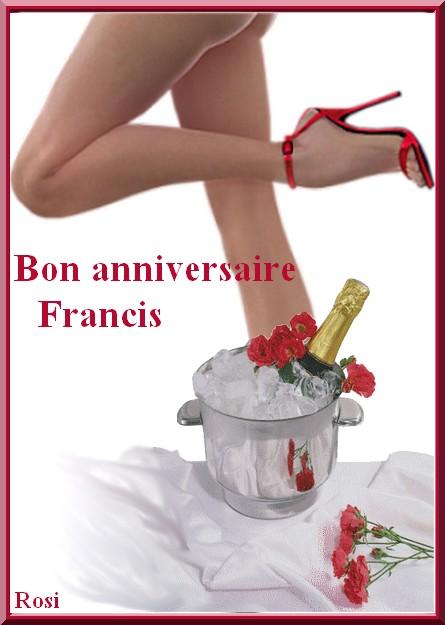 Bon Anniversaire Francis