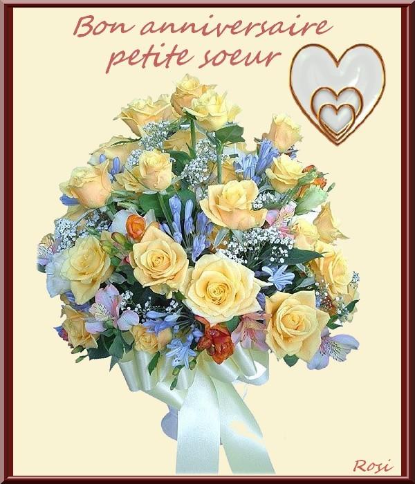 Carte Bon Anniversaire Ma Soeur Nanaryuliaortega Site