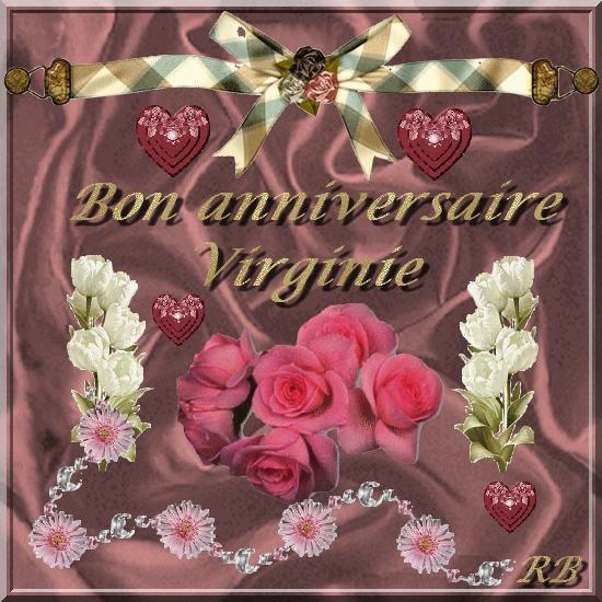 bon anniversaire virginie