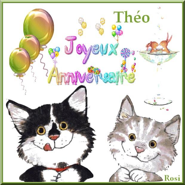 Joyeux Anniversaire Theo
