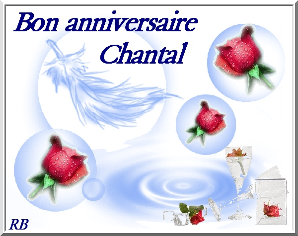 bon anniversaire chantal