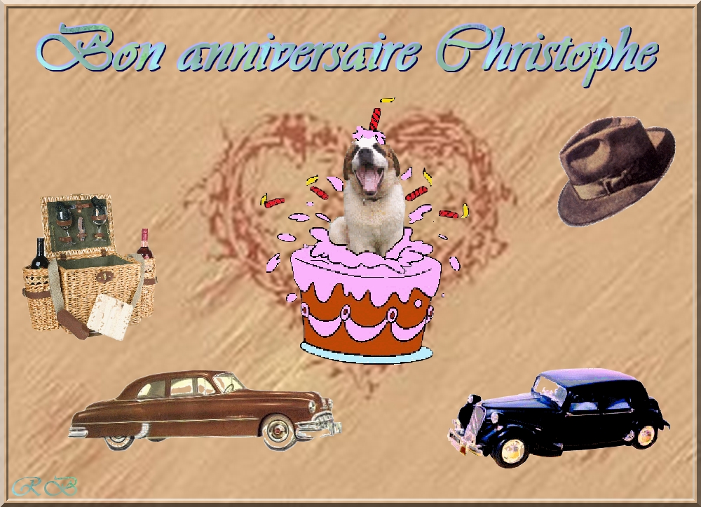 bon anniversaire christophe