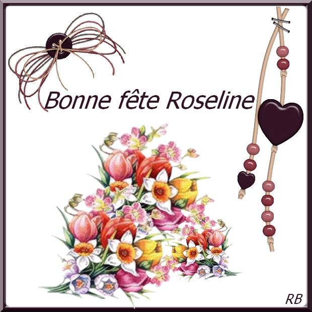 """Résultat de recherche d'images pour """"bonne fete roselyne"""""""