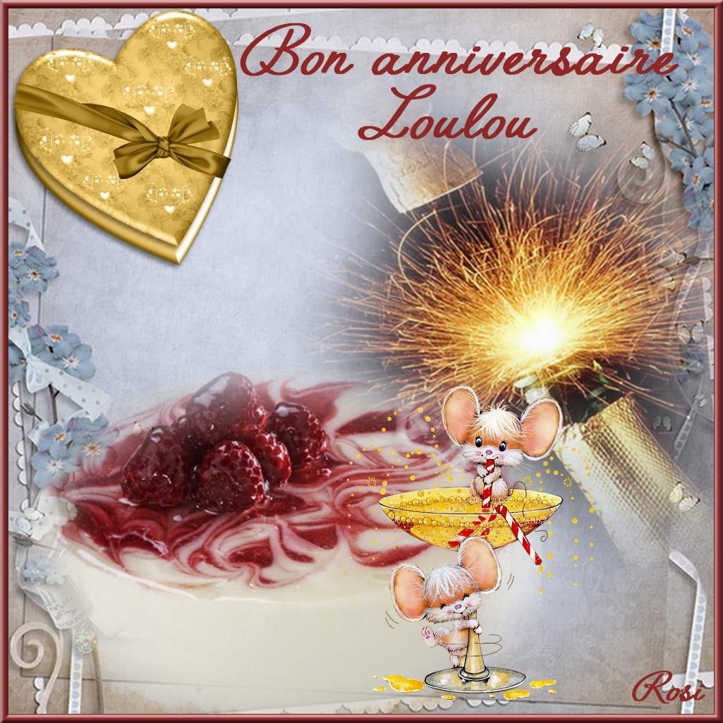 Bon Anniversaire Loulou