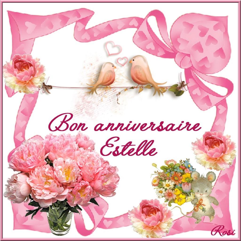 Bon Anniversaire Estelle
