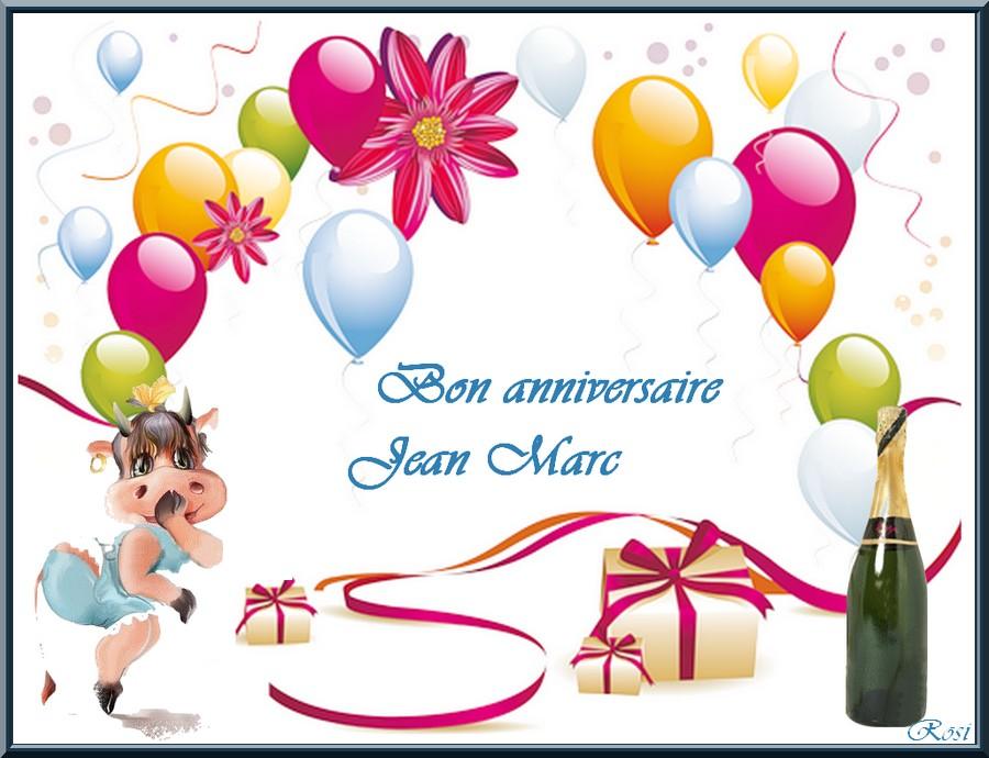 Bon Anniversaire Jean Marc