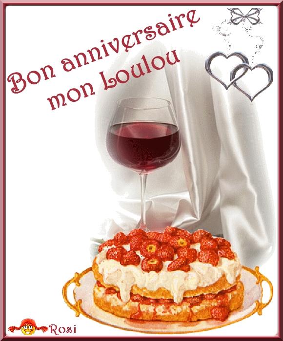 Bon Anniversaire Mon Loulou